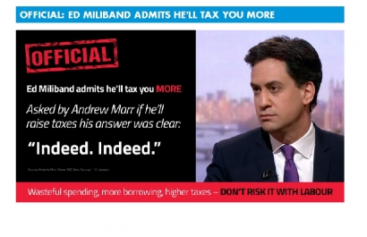 Asked by Andrew Marr if he'll raise taxes, Ed Miliband's answer was clear.