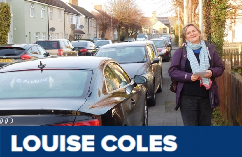 Luise Coles, Fletton and Woodston Ward